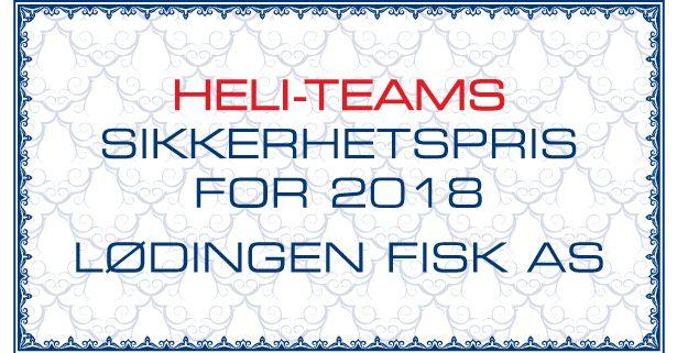 HeliTeam-sikkerhetspris_2018 Lødingen Fisk